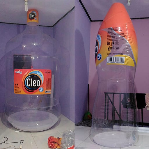 Jual Balon Botol Display (1) Cleo