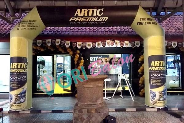 Balon Gate & Gate Dekorasi Artic Premium Tingkatkan Branding