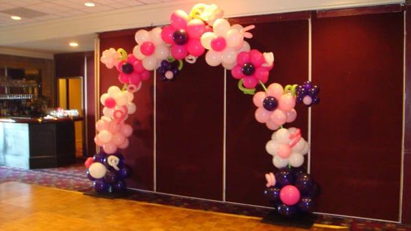 Dekor Balon Bunga dan Gate