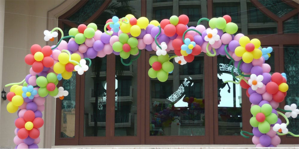 Dekorasi Bunga Balon Gate