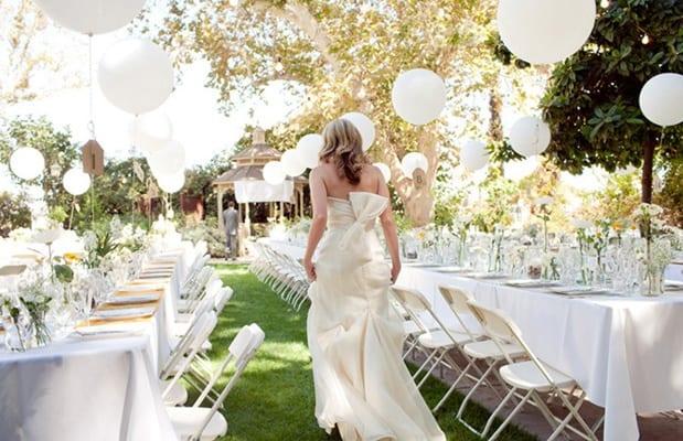 Inspirasi Dekorasi Balon Ultah Wedding Murah