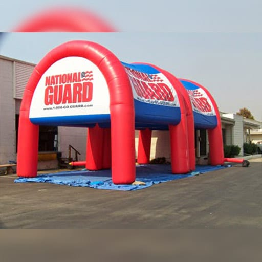 Tenda Balon National Guard